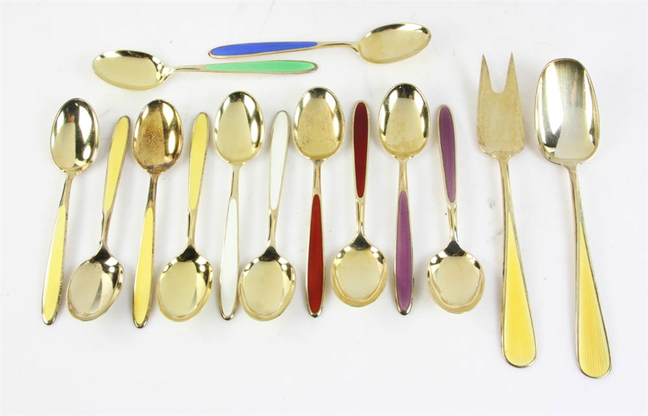 Collection of Miscellaneous Flatware Pieces