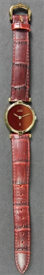 Ladies Goldplated Sterling Cartier Watch