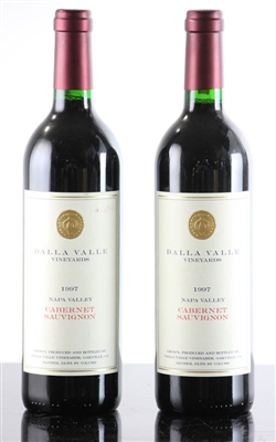 Two Bottles Dalla Valle Vineyards 1997