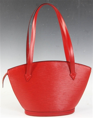 Louis Vuitton Red Epi Leather Bag