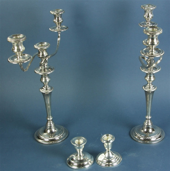 Pair of Gorham Sterling Candelabras
