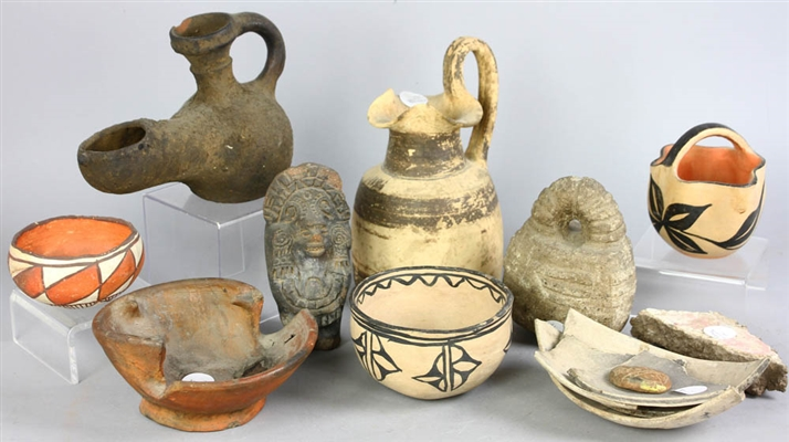Pre-Columbian Chards and Pottery