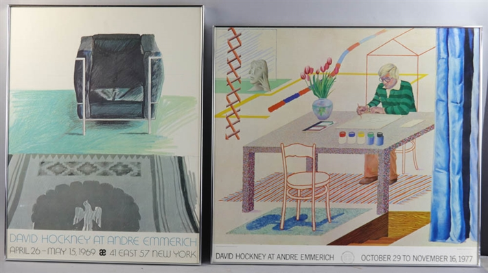 Two David Hockney Posters
