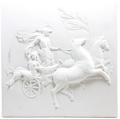 Plaster Wall Plaque Classical Scene
