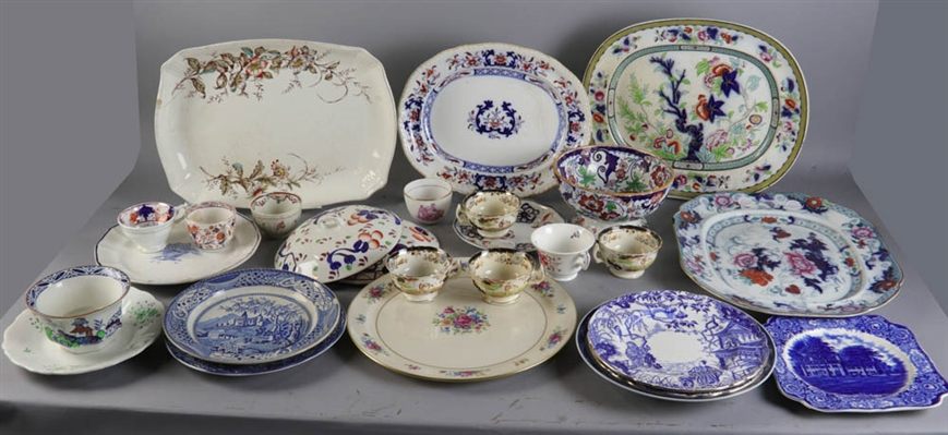 Group of English Transferware Pieces