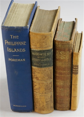 Group of 18th/19thC Travel Books