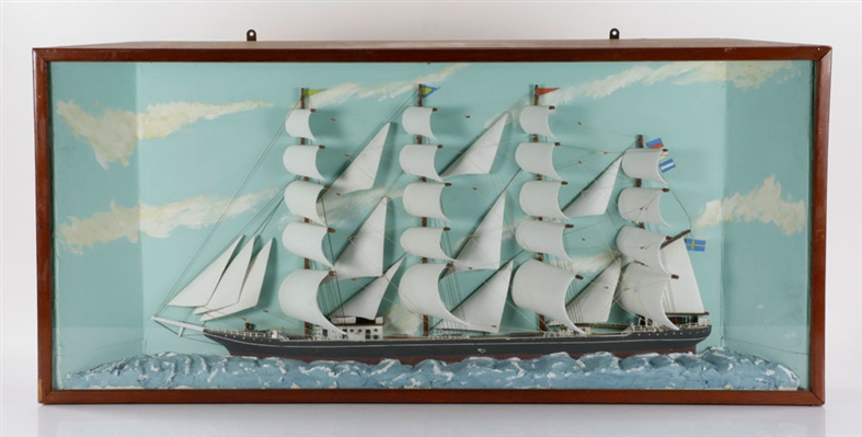 Antique Ship Diorama