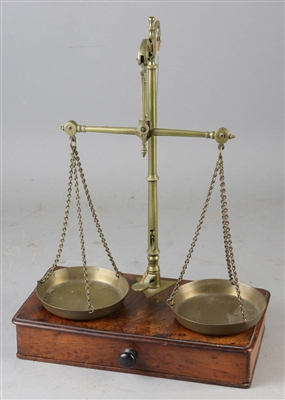 George III Assessors Scale with Weights