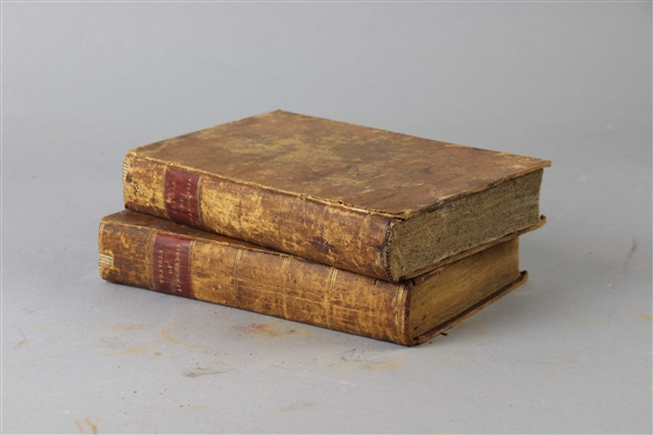 Two Volumes of Anacharsis The Younger In Greece