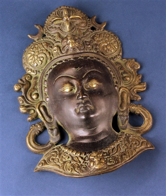 18th/19thC Thai Bronze Mask