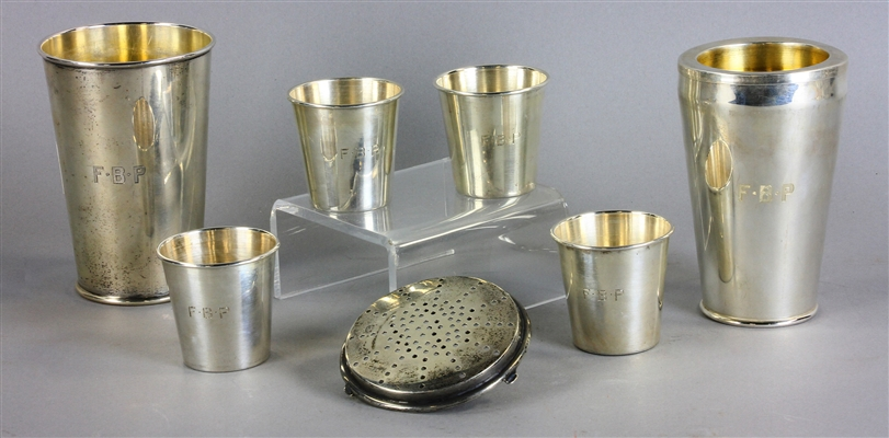 Sterling Silver Cocktail Shaker