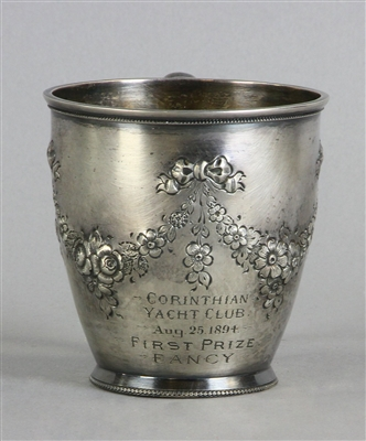 Sterling Corinthian Yacht Club Trophy Cup