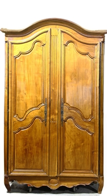 Large Two-Door Cupboard with Fitted Interior