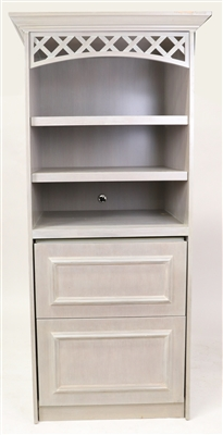 Custom Cabinet with Built In Refrigerator