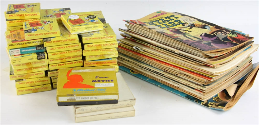 Collection of Magazines and Super 8 Movies