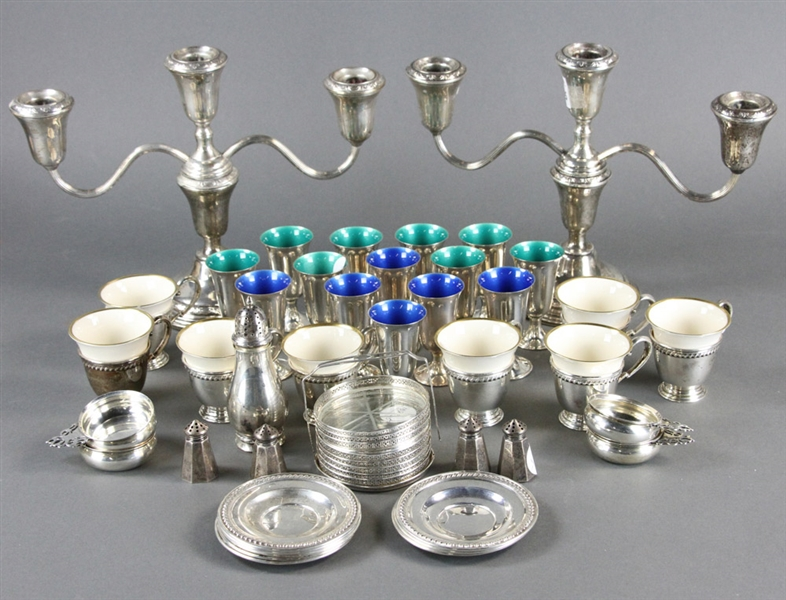 Group of Sterling Items
