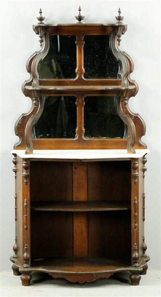 Victorian Marble-top Etagere