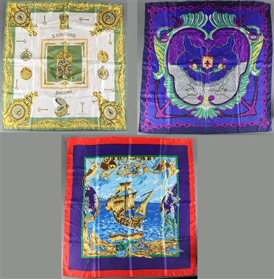 Group of Silk Scarves