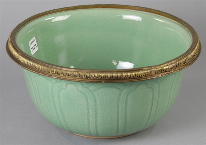 Celadon Pottery Bowl