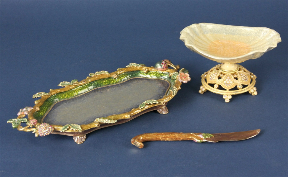 Three Jay Strongwater Decorative Items