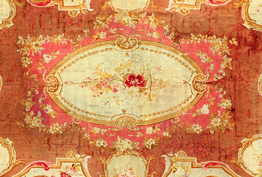 18th/19thC French Savonnerie Rug