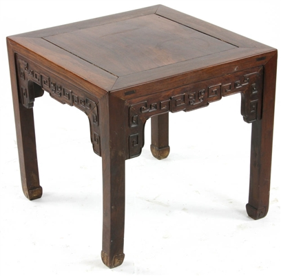 Early 19thC Chinese Rosewood Table