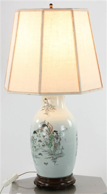 Chinese Porcelain Vase Lamp