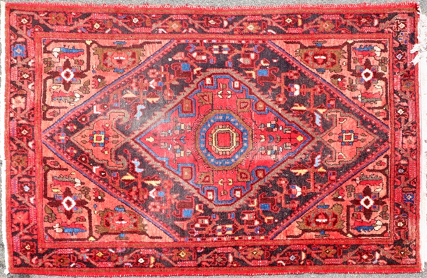 Semi Antique Hamadan Rug
