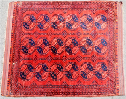 Antique Turkoman Ersari Rug