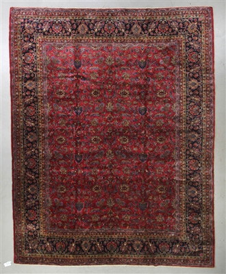 Antique Persian Keshan Rug