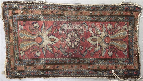 Antique Persian Mat and Scatter Rugs