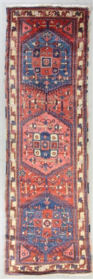 Antique Persian Karaja Rug