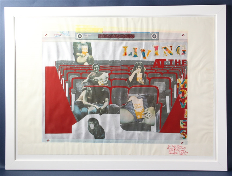 Larry Rivers, Silkscreen, At the Movies