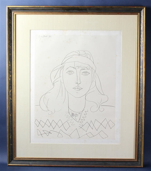 Pablo Picasso, Print, Portrait of Therese