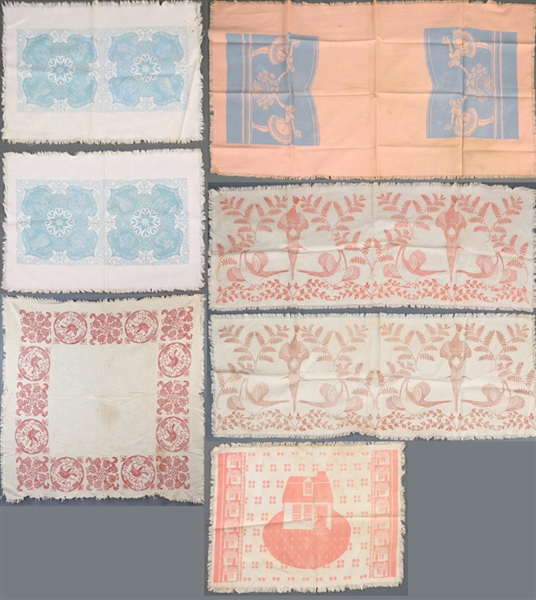 Collection of Folly Cove Designs Fabrics