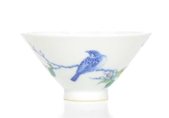 A Very Fine Chinese Doucai Cup