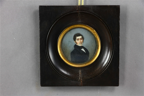 Early Miniature Portrait of a Young Man