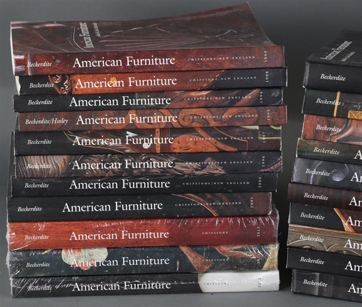 Complete Set of Chipstone American Furniture