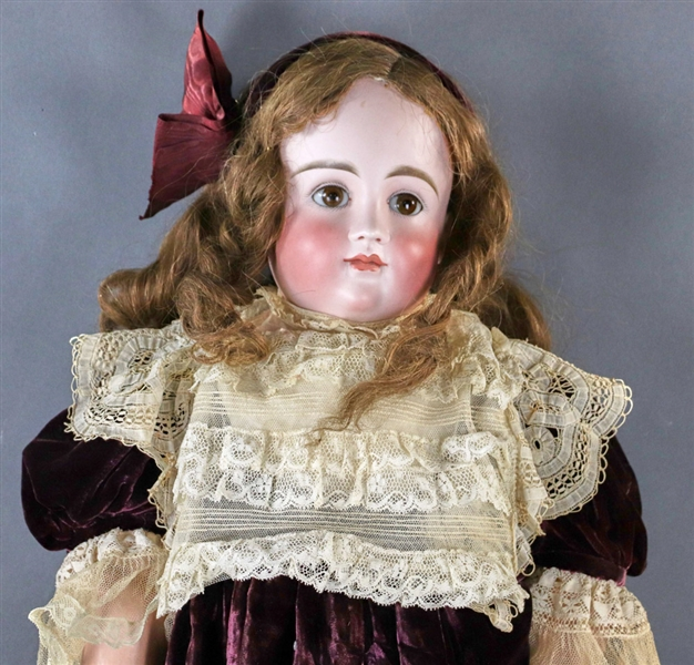 French Bisque Head Doll Number 108