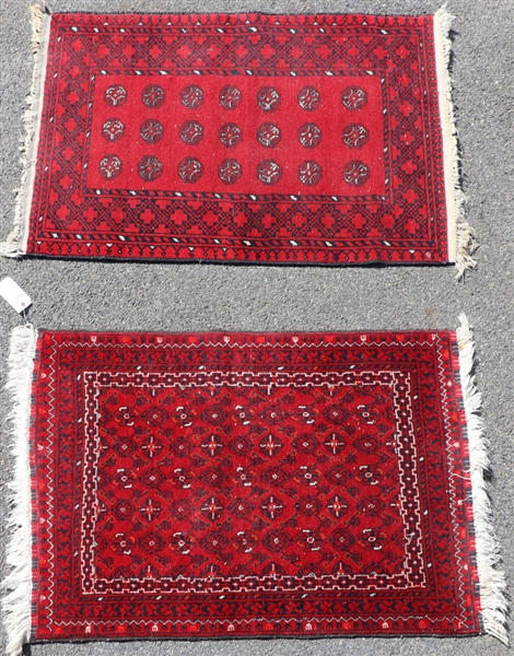 Two Semi Antique Bokhara Rugs