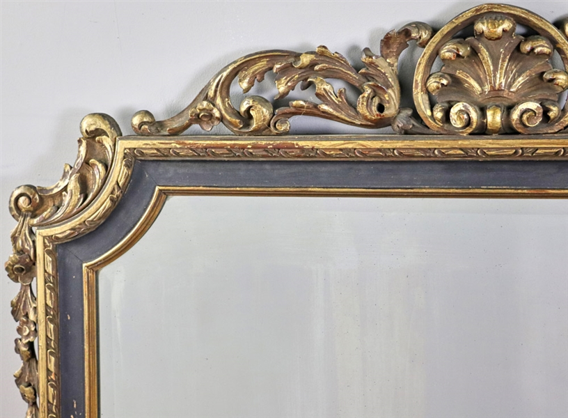Antique Continental Style Mirror