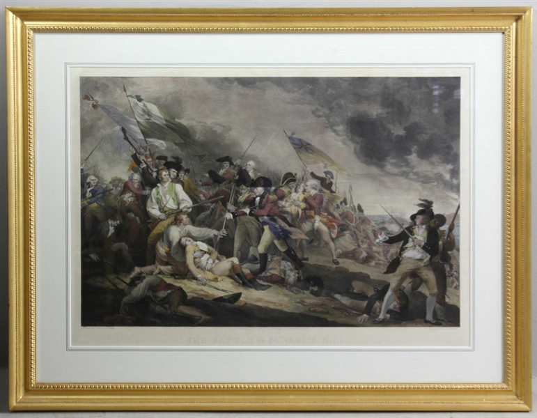Post Battle of Bunker Hill View Print