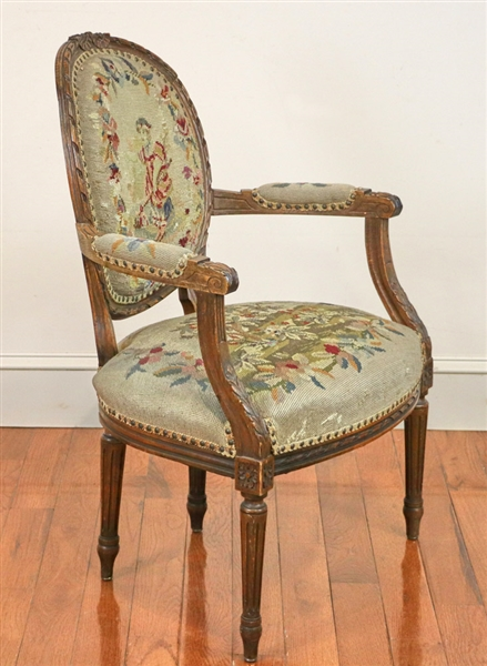 French Louis the XVI Style Armchair