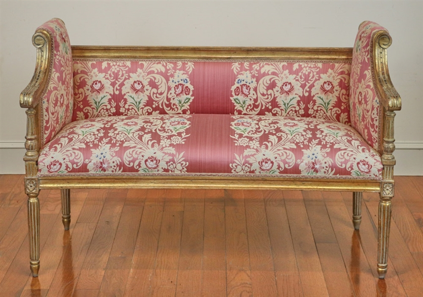 French Louis the XV Style Settee