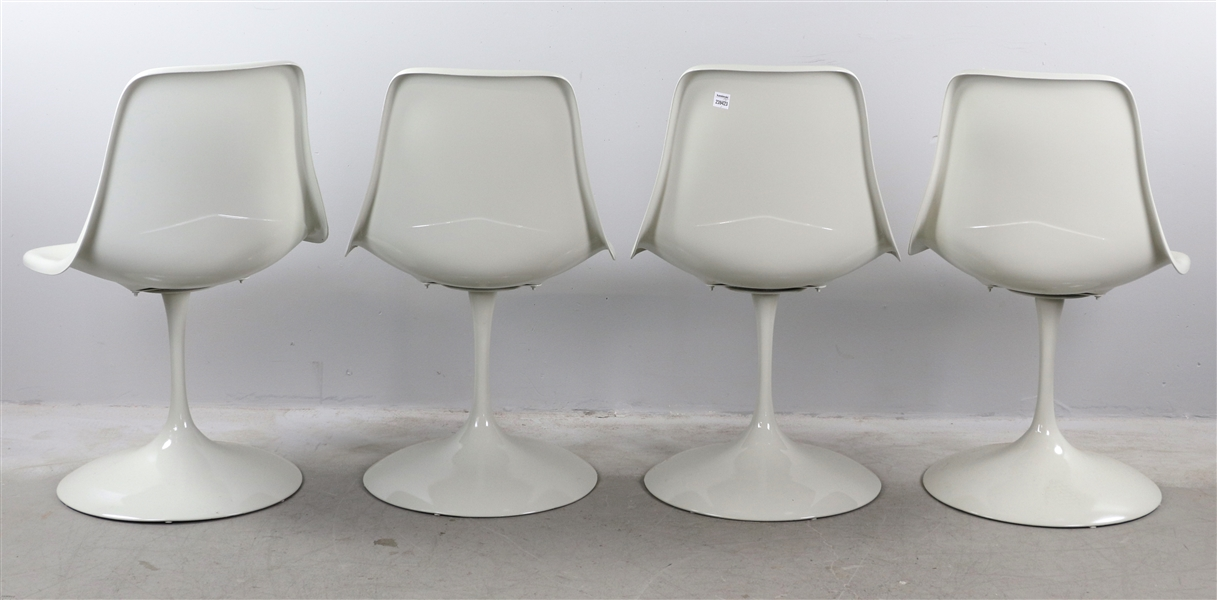 C1950s Eero Saarinen Tulip Chairs, Set of (4)