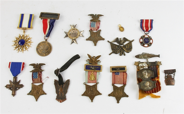 Group of (12) 19th/20thC Commemorative Medals