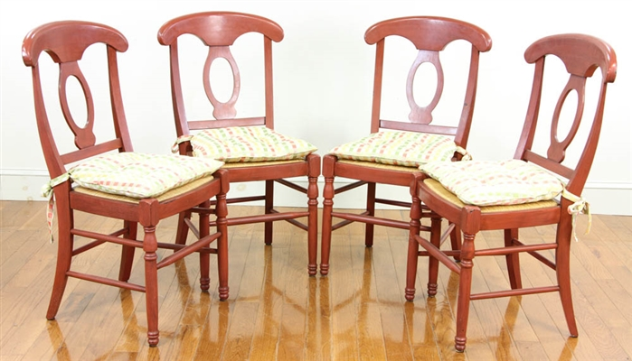 Set of French Country Style Chairs