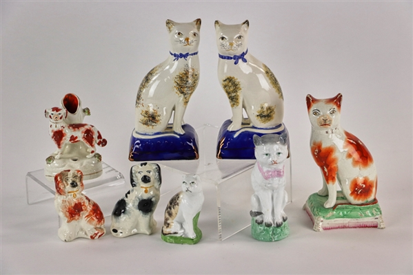 Collection of 19th Century Animal Figures