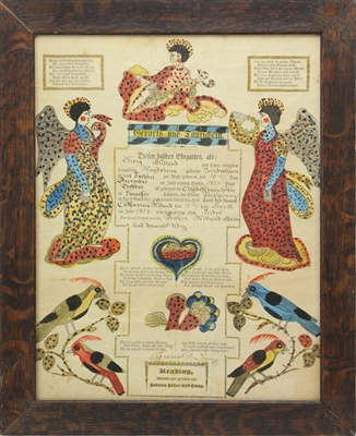 19th Century German Fraktur