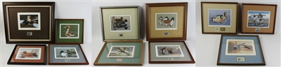 (11) Duck Stamps of Various Artists